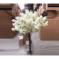 Large Cherry Blossom Tree - White Branches  - 1.8m Height